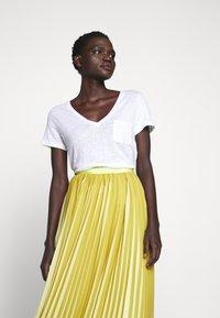 J.CREW - DEE SKIRT STRIPED - A-line skirt - golden citrus - 5