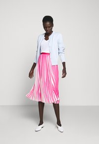 J.CREW - DEE SKIRT STRIPED - A-line skirt - fuchsia/ivory - 1