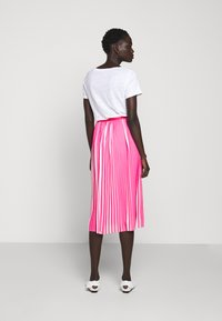 J.CREW - DEE SKIRT STRIPED - A-line skirt - fuchsia/ivory - 2
