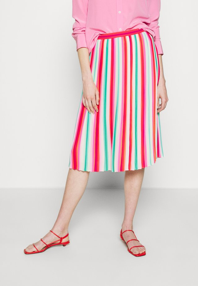 WATERMELON STRIPE QUEEN - A-linjainen hame - red/green/multi