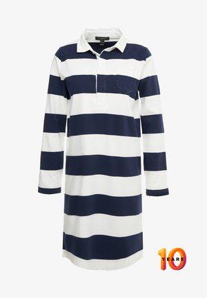 HERITAGE RUGBY SHIFT DRESS - Freizeitkleid - navy/ivory