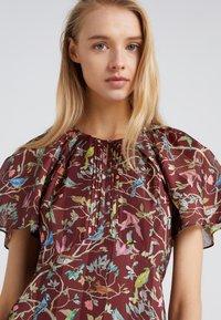J.CREW - ROME DRESS MENAGERIE - Maksimekko - mahogany/multi - 5