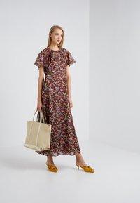 J.CREW - ROME DRESS MENAGERIE - Maksimekko - mahogany/multi - 1
