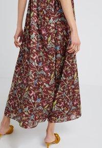 J.CREW - ROME DRESS MENAGERIE - Maksimekko - mahogany/multi - 3