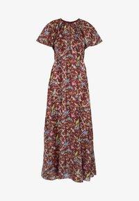 J.CREW - ROME DRESS MENAGERIE - Maksimekko - mahogany/multi - 4