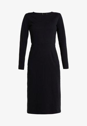 DRESS SOLID - Jerseykjoler - black
