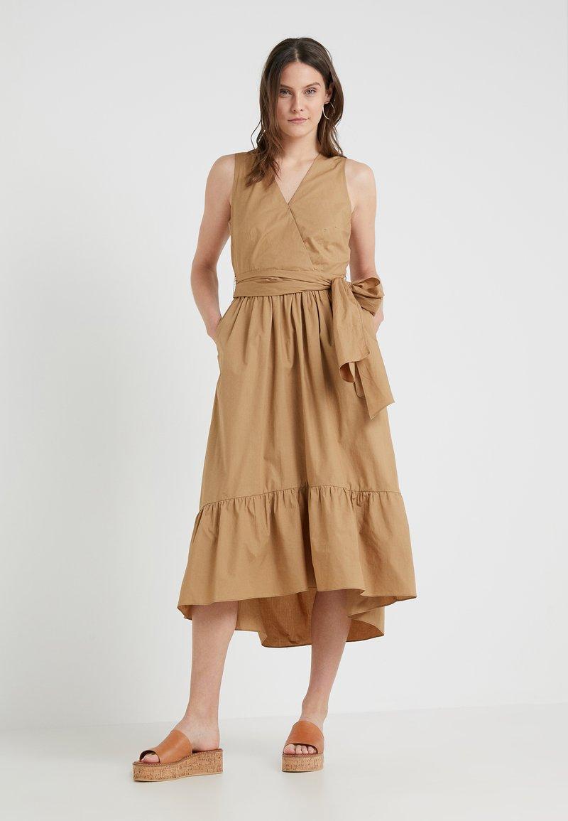 J.CREW - GINGER PINE DRESS - Day dress - camel