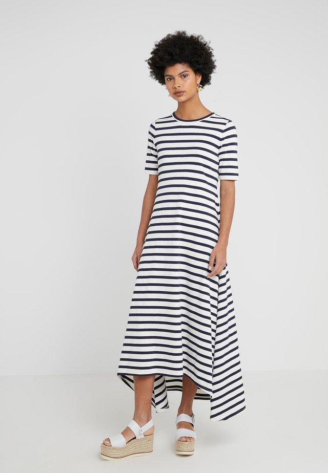 SUNSET DRESS - Długa sukienka - ivory/navy