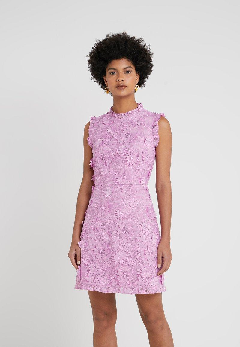 J.CREW - DUTCH IRISH 3D FLOWER DRESS - Cocktailkleid/festliches Kleid - sundrenched peony