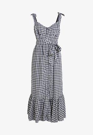 Maxi šaty - white/navy