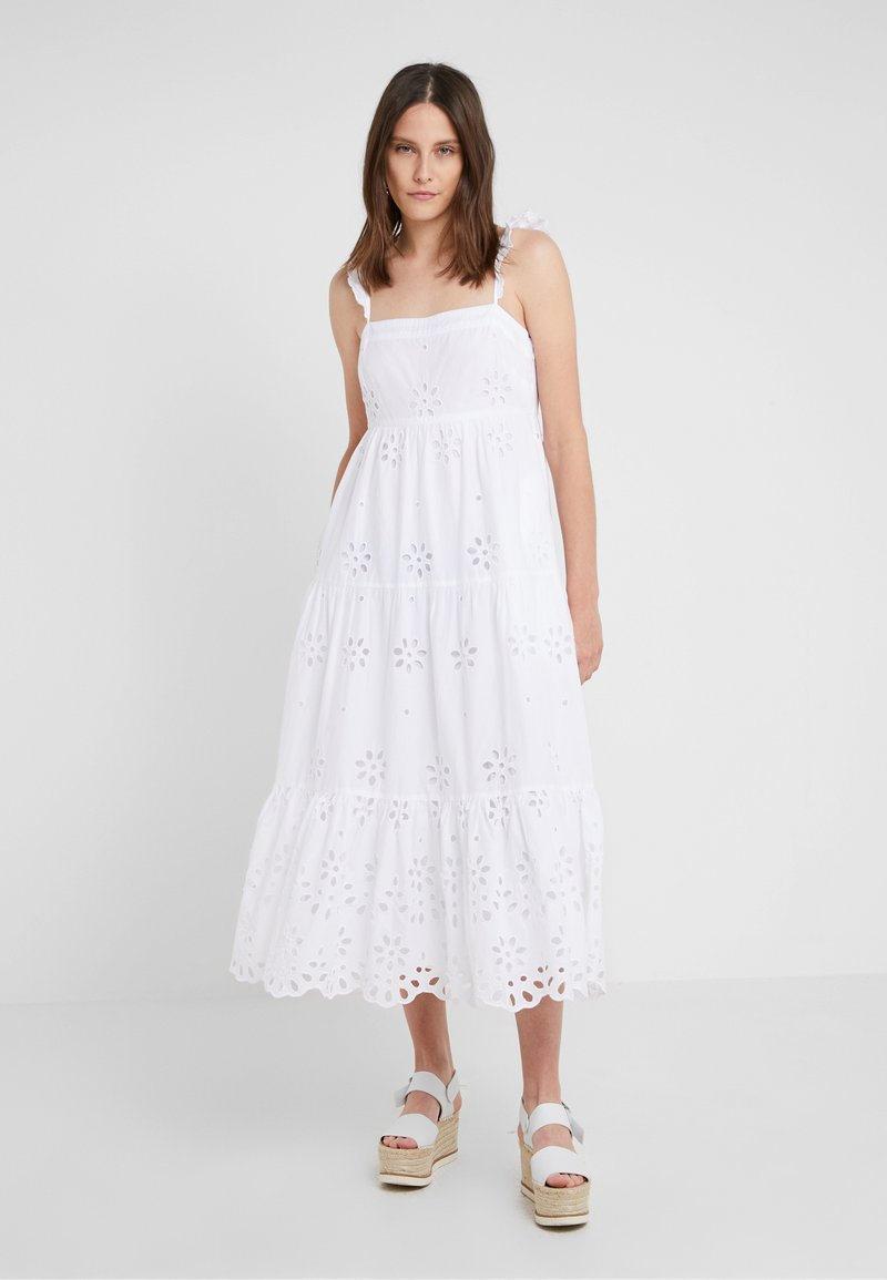 J.CREW - PEYTON DRESS - Maxikleid - white
