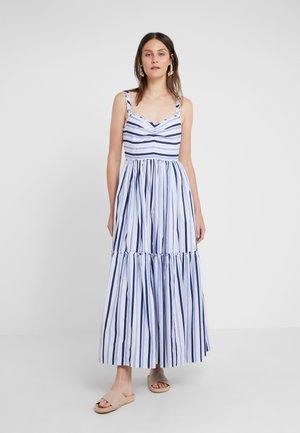 Długa sukienka - multi blue