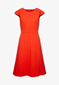J.CREW - MATHILDE DRESS STRETCH SUITING - Vestido ligero - bold red - 3