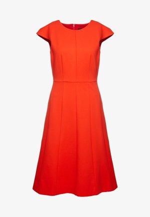 MATHILDE DRESS STRETCH SUITING - Vestido ligero - bold red