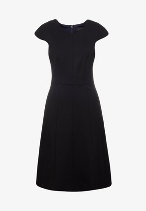 MATHILDE DRESS STRETCH SUITING - Jersey dress - black