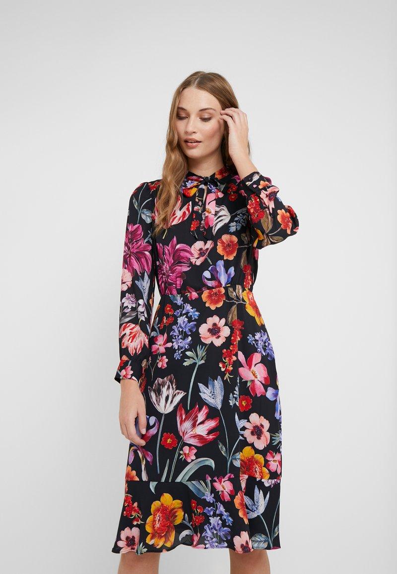J.CREW - GENOVA DRESS - Day dress - black