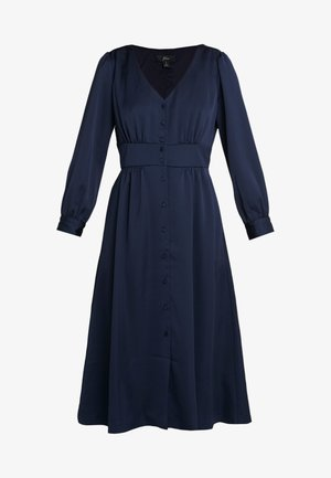 FLINT DRESS - Robe chemise - navy