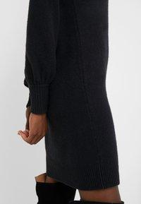 J.CREW - SUPERSOFT TURTLENECK DRESS - Gebreide jurk - black - 5