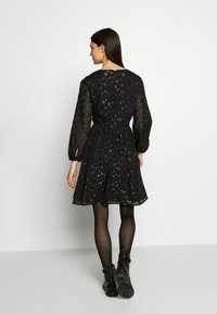 J.CREW - LANA LEOPARD DRESS - Robe de soirée - black - 2