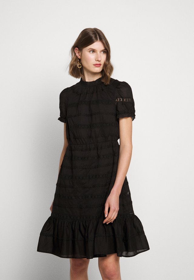 JOPLIN DRESS - Korte jurk - black