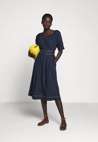 J.CREW - GWEN DRESS - Day dress - navy - 1