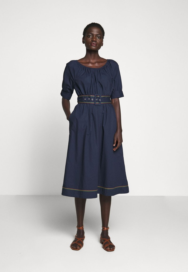 J.CREW - GWEN DRESS - Day dress - navy
