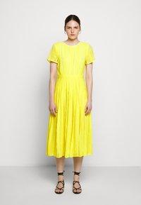 J.CREW - JUDY DRESS - Vapaa-ajan mekko - bright kiwi - 0
