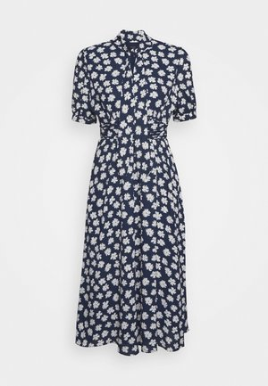 CONWAY DRESS - Skjortekjole - navy/ivory