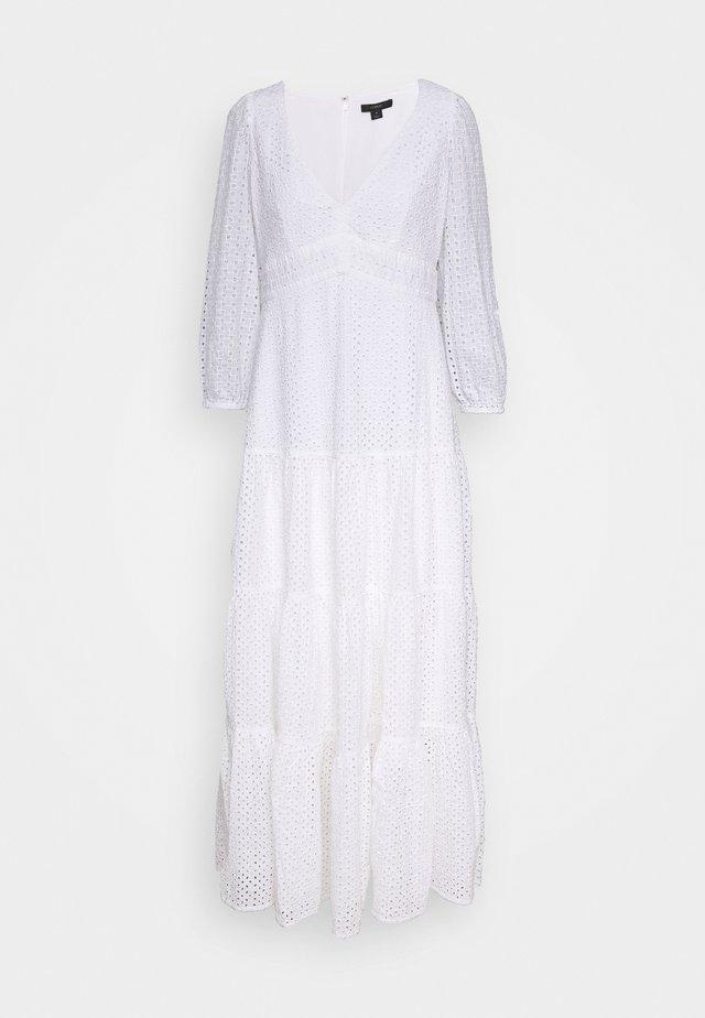 JOHNNIE EYELET DRESS - Day dress - white