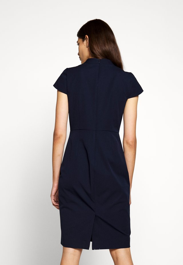 CHARLOTTE DRESS - Etui-jurk - navy