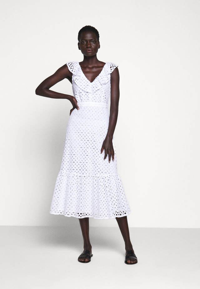 PANAMA DRESS - Korte jurk - white