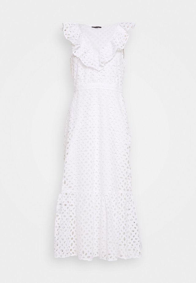 PANAMA DRESS - Korte jurk - white