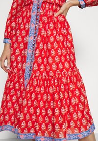 J.CREW - DRESS IN BLOCKPRINT - Blousejurk - cerise cove/multi - 6