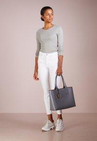 J.CREW - SLIM PERFECT TEE - T-shirt à manches longues - heather grey - 1