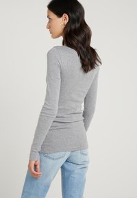 J.CREW - SLIM PERFECT  - Pitkähihainen paita - heather grey