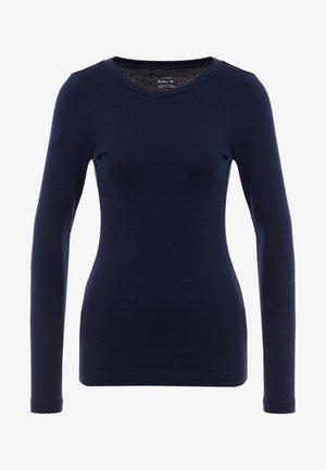 SLIM PERFECT  - Maglietta a manica lunga - navy