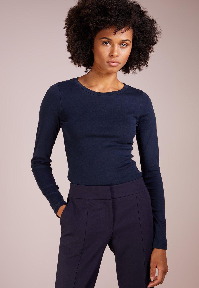 J.CREW - SLIM PERFECT  - Bluzka z długim rękawem - navy
