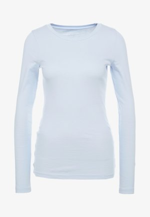 SLIM PERFECT  - Long sleeved top - shale blue