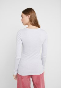 J.CREW - SLIM PERFECT  - Long sleeved top - heather light blue - 2