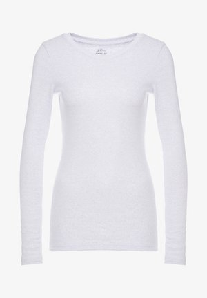 SLIM PERFECT  - Long sleeved top - heather light blue