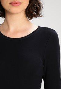 J.CREW - SLIM PERFECT  - Bluzka z długim rękawem - black - 3