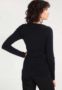 J.CREW - SLIM PERFECT  - Bluzka z długim rękawem - black - 2