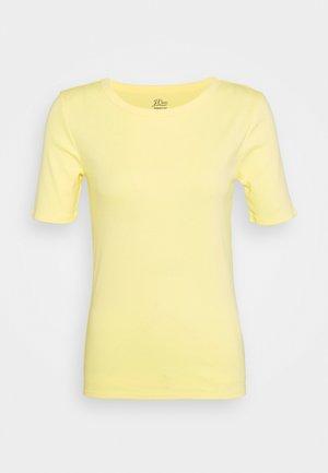 CREWNECK ELBOW SLEEVE - T-Shirt basic - vintage citrus