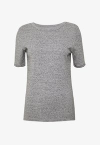 J.CREW - SLIM PEFECT ELBOW SLEEVE TEE - Basic T-shirt - heather dusk - 3