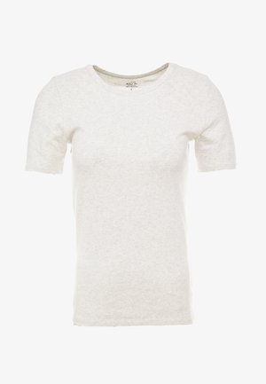 SLIM PEFECT ELBOW SLEEVE TEE - T-shirt basique - moonlight heather
