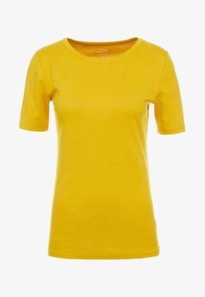 SLIM PEFECT ELBOW SLEEVE TEE - T-shirt basic - rich gold