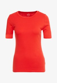 J.CREW - SLIM PEFECT ELBOW SLEEVE TEE - T-shirt basic - bright cerise - 3