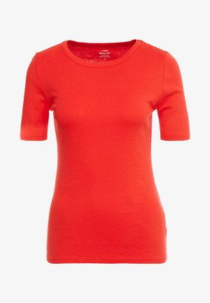 SLIM PEFECT ELBOW SLEEVE TEE - Camiseta básica - bright cerise