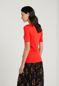 J.CREW - SLIM PEFECT ELBOW SLEEVE TEE - T-shirt basic - bright cerise