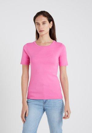 SLIM PEFECT ELBOW SLEEVE TEE - T-shirt basic - intense pink